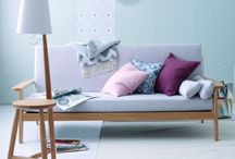 SCANDINAVE / SCANDINAVIAN / Matières naturelles, prédominance du blanc et des couleurs pastel, lignes épurées, formes géométriques, le design scandinave s'affirme de plus en plus comme un style déco incontournable pour nos intérieurs
