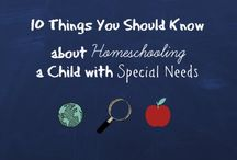 Sharing Ideas ~ Special Needs Homeschooling ~ / A group board to share ideas for education our children with special needs.  If you want to join shoot me a message.