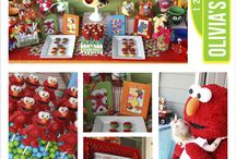 "Parson's Birthday Party Ideas...""Melmo"" themed!"