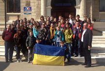 Elevi din regiunea Lugansk şi-au petrecut vacanţa de primăvară în România / Un grup de 33 de elevi din regiunea Lugansk şi-au petrecut vacanţa de primăvară în România în jud. Suceava (foto: MAE)
