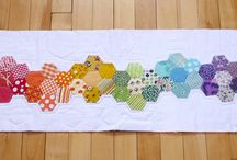 Hexies / by Pink Hippo Quilts