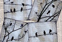 Silueta ptáků