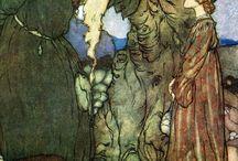 Edmund Dulac Fairies I Have Met