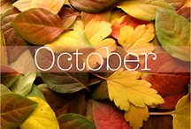 I LOVE OCTOBER!!!!! / by debra vittitow