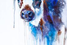 Zwierzaki malowane