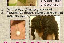 Natural hair ideas....