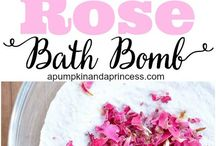 Bath Bombs and Goat milksoap.