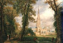 """Art & Impression - Constable / """"There is nothing ugly; I never saw an ugly thing in my life: for let the form of an object be what it may, – light, shade, and perpective will always make it beautiful."""" John Constable (1776-1837)"""