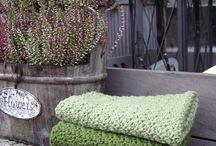 Hækler og strikket klude