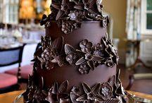 Adorable chocolate cake