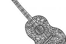 hangszer színezők
