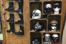 Helmet Shelf