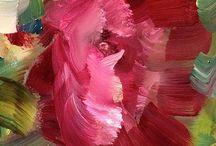 цветы-живопись