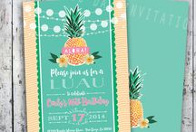 Luau 16th Birthday Party