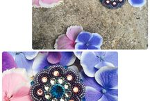 Brooches / Pin-to brooches are fashion creations of Lucia Simoncic. All are designed with great care and detail in mind to provide an unique and versatile accessories for special occasions as well as everyday use.