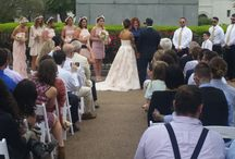 Jackson Square Weddings / What better place to have your outdoor wedding ceremony than Jackson Square, with the iconic St. Louis Cathedral as a backdrop?  Carefree planning . . . New Orleans Party Rentals can deliver, set up, and stand by for pick up.