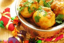 Indian vegetarian main course dishes / by RoshniC RoshniPin