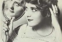 1917 Make Up, Fashion, Beauty / Make Up examples, hairstyle , fashion and beauty from 1917's