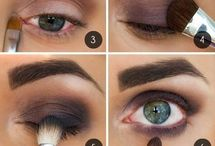 make up -eyes