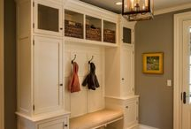 Entry Hall Built In / by Amy Helton