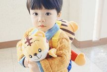Bebês asiáticos