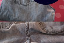 ремонт джинсы