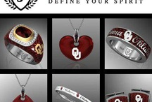 Oklahoma Sooners Jewelry / Fine collection of Oklahoma Sooners jewelry available at Brockhaus Jewelry. BOOMER SOONER! GO OU!