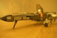 Lego Star Wars custom tfa xwing / Custom lego tfa xwing
