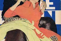 Mid Century Illustration