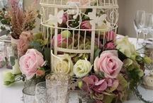 Wedding flowers Vintage theme