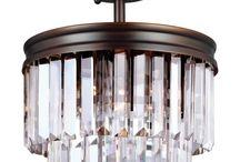 Light Semi-Flush Convertible Pendant / http://dreamonlighting.com/lighting-fixtures/pendants/drum-shade-pendants