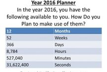 Goal Setting / Learn how to plan your year ahead