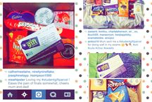 instagram likes of our parcels / a selection of nice comments from recipients of parcels.