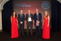 Autorevue-Award für Kia / Als erste koreanische Marke erhält der Kia Carens beim Autorevue-Award den zweiten Platz in der Kategorie 'Vans',