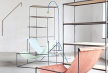 Pink Interiors / Pink Terracotta Nude Interior Furniture Home Goods Design