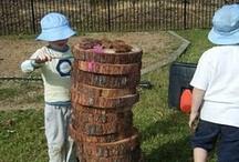 """Kidscape"" your backyard / Natural Montessori Playgrounds"