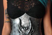 dragon corset
