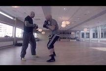 Coach Roger Eriksen Mittology Training 2018 / Boxing / Padwork