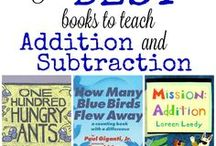 addition/subtraction picture books
