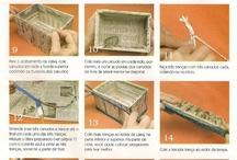 pleteni na vyzkouseni / pletení z papíru