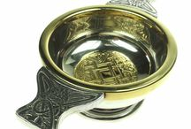 Scottish Quaichs, Tankards and Horns / Quaichs, Scottish, Wedding, Ceremonial, Whisky, Celtic, Tankard, Drinking, Horns, Drinking Vessels