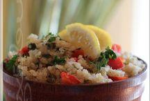 Quinoa au citron et coriandre
