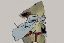 RPG Setting: Mouseguard