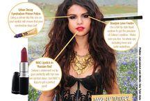 Selena Gomez makeup / Tous les Makeups de Selena Gomez !