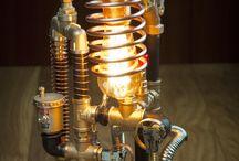 Steampunk DIY Industrial Pipe Lamp #3