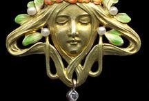 Art Nouveau jewellery / by Ilene Lytwyniuk
