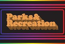 "Parks and Recreation / ""Welcome to Pawnee! First in friendship, fourth in obesity."" - Leslie Knope / by Ariel Alvarado"