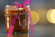 Gifting Chutneys / Because chutneys are cooked they will keep for weeks, just make sure you choose some funky jars (I recycle old jars) to decant them into. Always sterilise the jars before you use them and then you can jazz them up with personalised labels and painted lids and give them as gifts, as well stocking up the pantry.