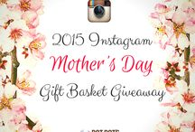 ~*~2015 Instagram Mother's Day Giveaway~*~ / Our lucky winners for our Mother's Day Gift Basket Giveaway