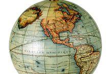 motif: maps & globes